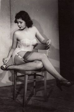 lady on chair